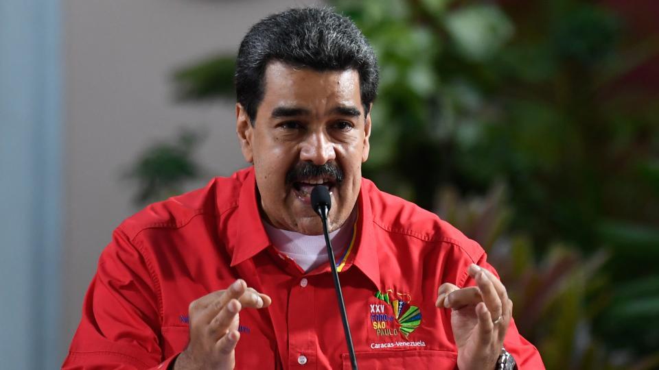 """Maduro anunció que no enviará a sus negociadores debido a """"la grave y brutal agresión perpetrada por la administración de Trump""""."""