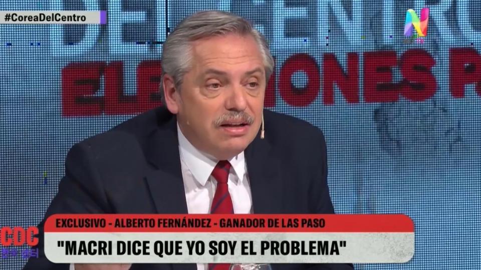 Fernández señaló al Ministro de Economía, Nicolás Dujovne, por sus bienes en el exterior.