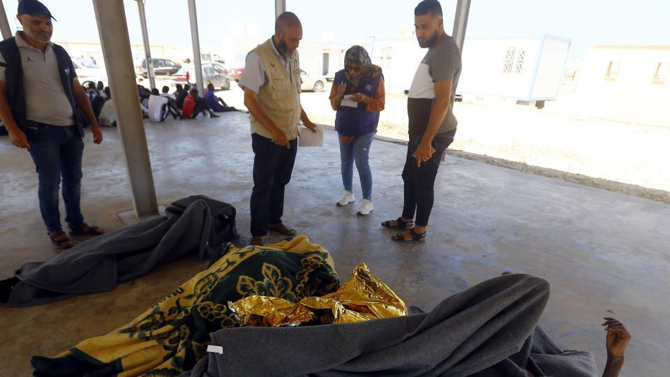 Nuevo naufragio de migrantes en el Mediterráneo Cuarenta muertos frente a Libia