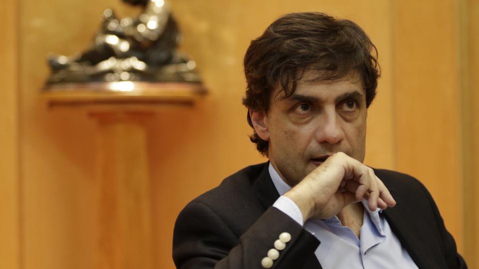Hernán Lacunza, ministro de Hacienda. Una gestión de urgencia que le recargará las espaldas al próximo gobierno.