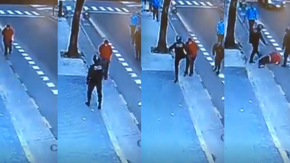 El video muestra claramente lo que el primer relato policial intentó ocultar