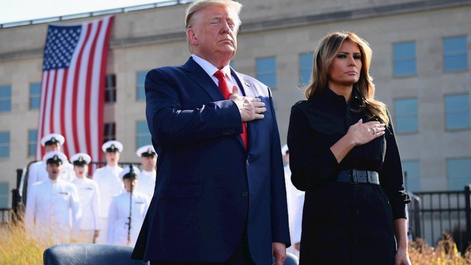 El presidente de Estados Unidos encabezó un acto en el Pentágono.