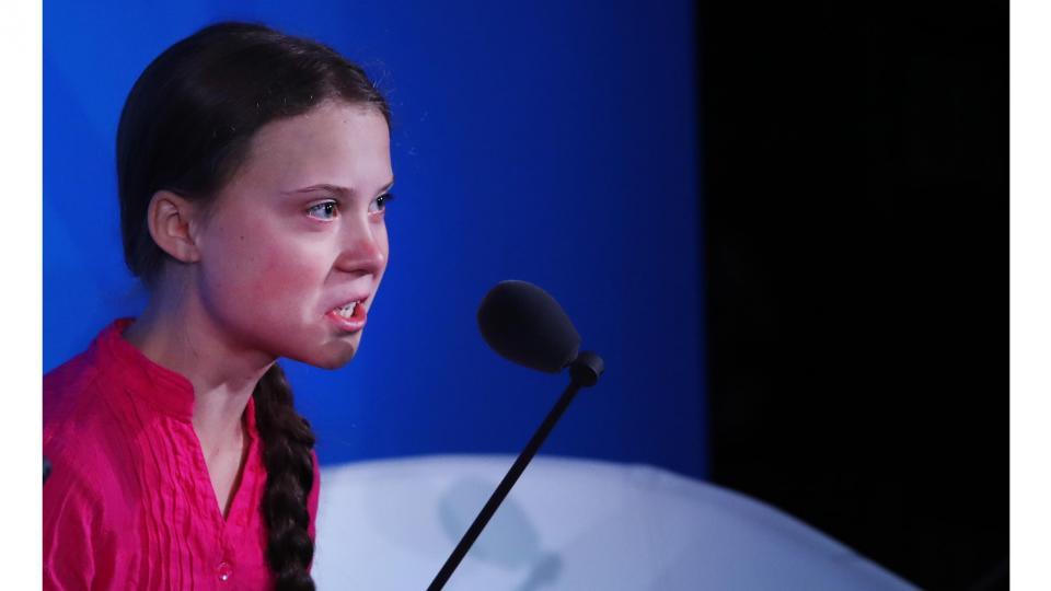 """Greta Thunberg en la ONU: """"el cambio viene, les guste o no"""""""