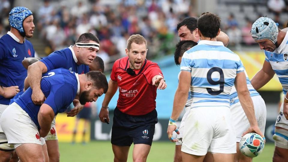 Mundial de rugby: Reconocen malos arbitrajes en la primera ronda