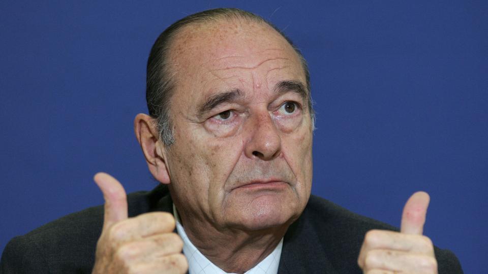 Murió Jacques Chirac, expresidente de Francia