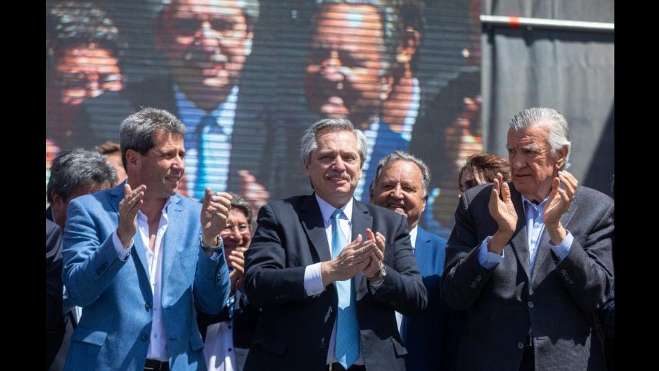 """Alberto Fernández en San Juan: """"Macri está descubriendo la realidad"""""""
