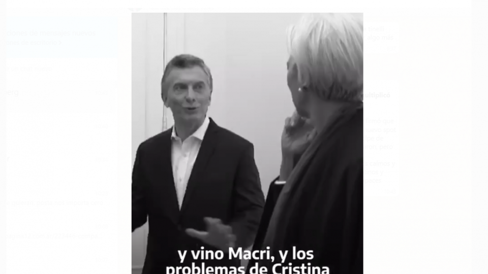 """""""Vino Macri y los problemas de Cristina los multiplicó por mil"""""""