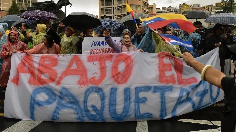 """Gabriela Rivadeneira: """"Propusimos el adelantamiento de las elecciones"""""""
