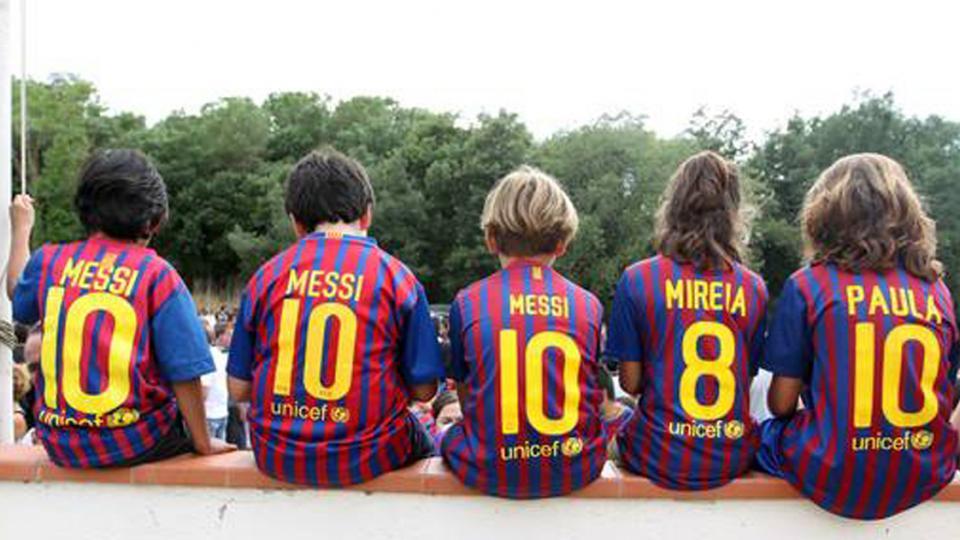¡Yo soy del Barcelona desde la cuna!