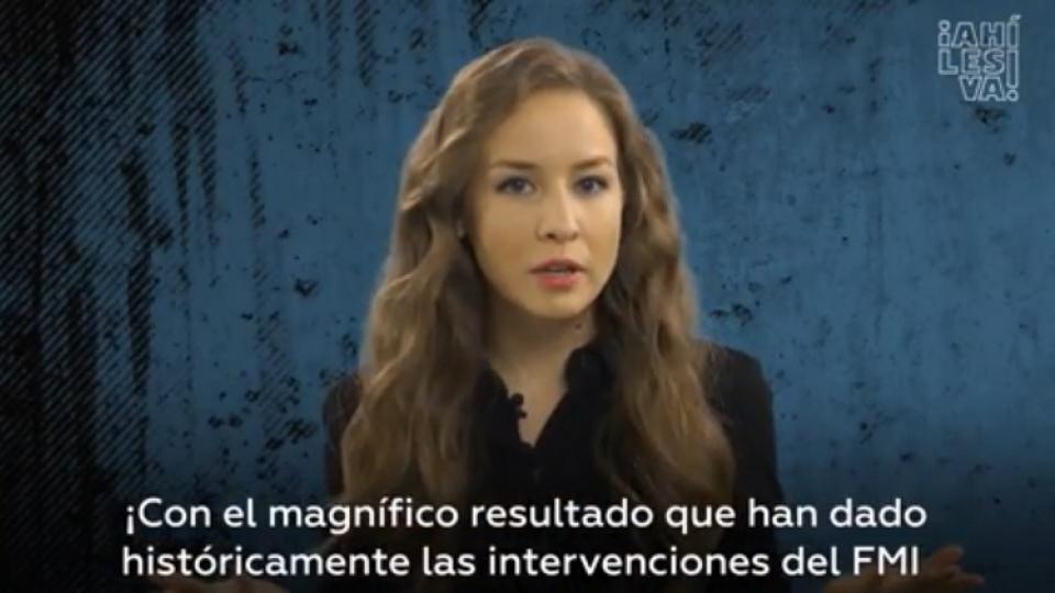 La intromisión del FMI en Ecuador contada en 5'