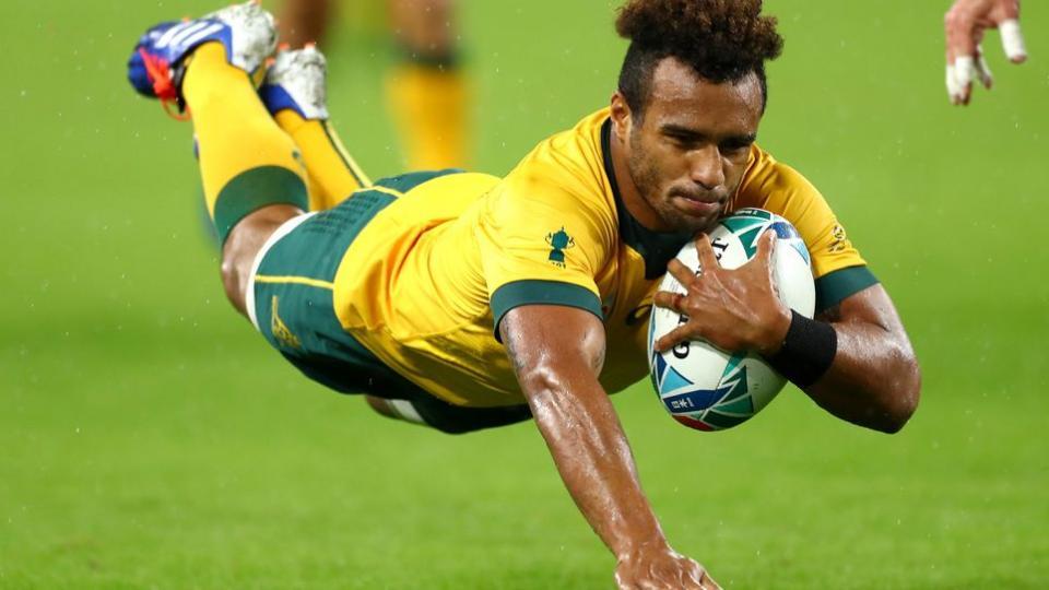 Mundial de rugby: Australia venció 28-7 a Georgia