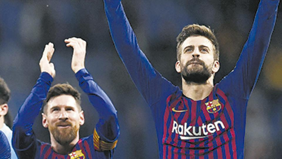 """Polémica Messi-Piqué: """"El es el capitán y es con quien mejor me llevo"""""""