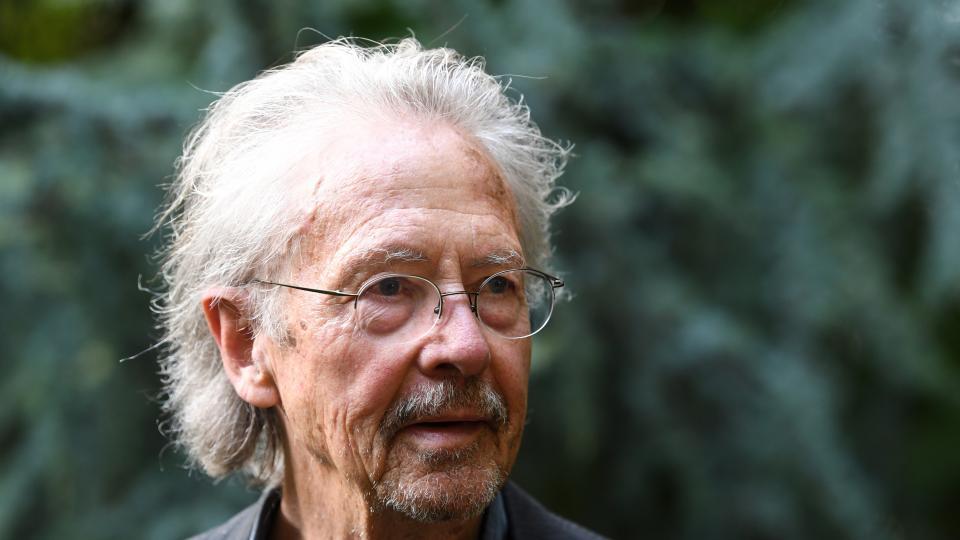 Protestas contra el Nobel de Literatura a Peter Handke