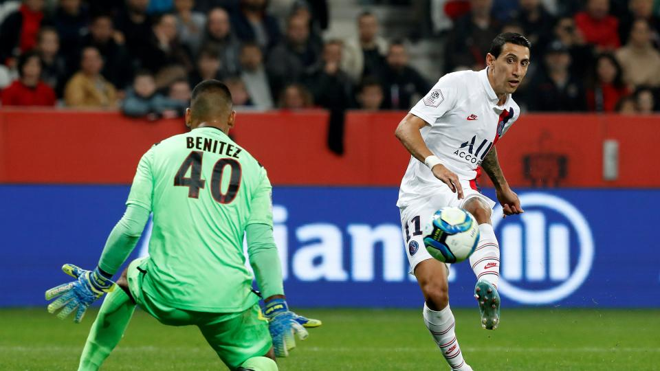 Paris Saint-Germain: Di María anotó dos goles e Icardi, uno