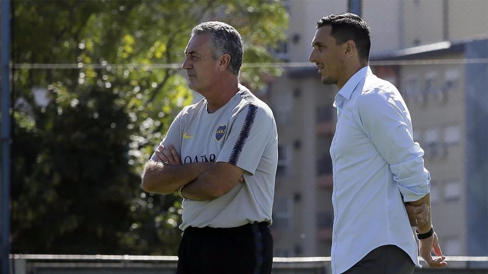 Boca: Burdisso analizó lo que sigue para Alfaro, Tevez y De Rossi