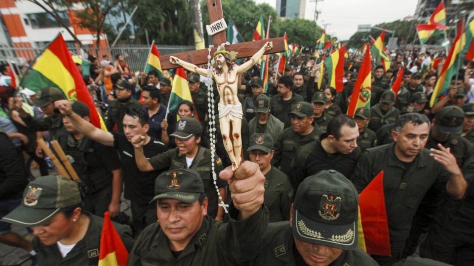 Cronología del golpe en Bolivia