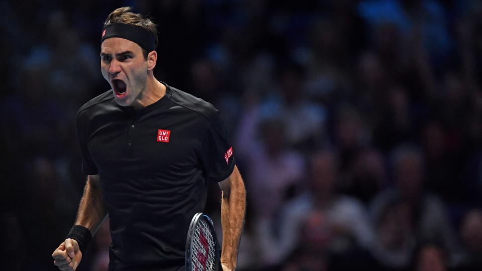 Federer fue letal para derrotar a Djokovic