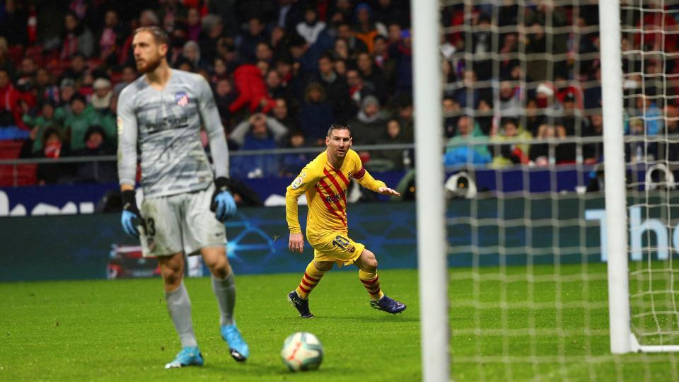 Liga de España: Messi le dio el triunfo y la punta al Barcelona