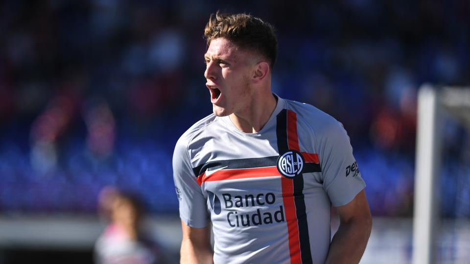 Superliga: Gaich le hizo fácil la tarde a San Lorenzo
