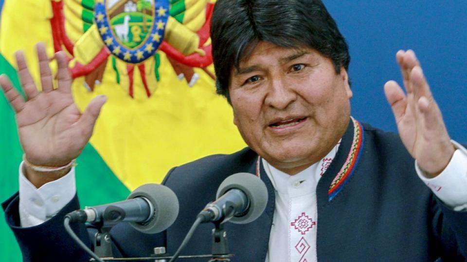 Evo Morales viajó a Cuba por una consulta médica