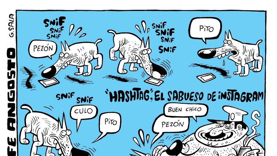 Hashtag, el sabueso de Instagam