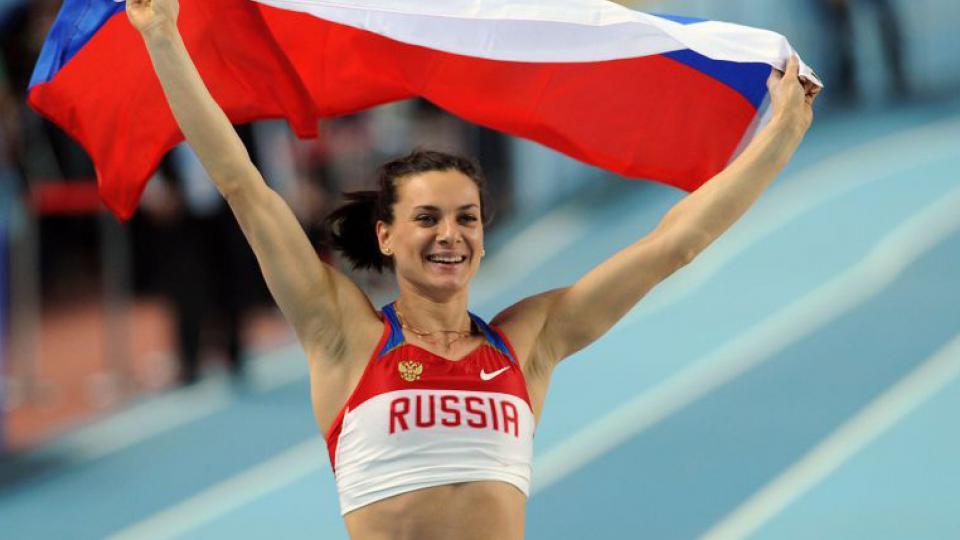 """Para Isinbayeva, las sanciones por dóping a Rusia son """"asesinas"""""""