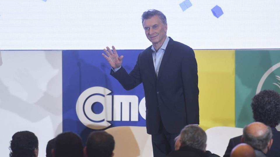 Macri confirmó que trabaja en un acuerdo de libre comercio con Estados Unidos.