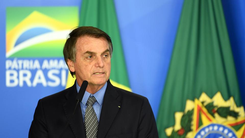 Jair Bolsonaro ahora invitó a Alberto Fernández a B...  | Página12