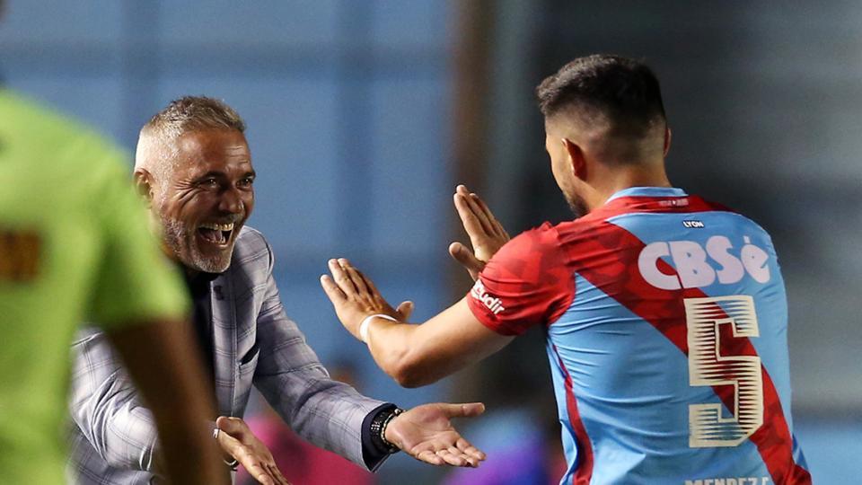 Superliga: Arsenal hundió más a Colón de Santa Fe