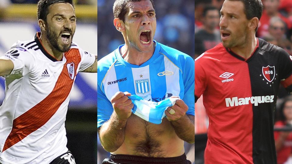 Los 10 goleadores de la década en el fútbol argentino