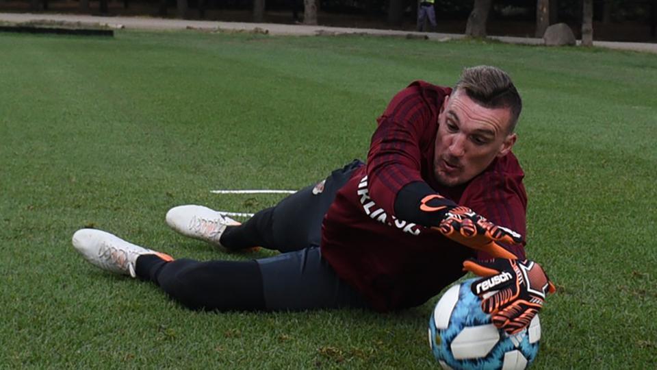 "River Plate: ""Ganar nos deja arriba de la tabla"", dijo Armani"