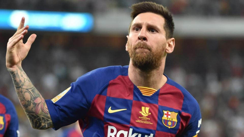 La UEFA eligió a Messi en su equipo ideal del 2019