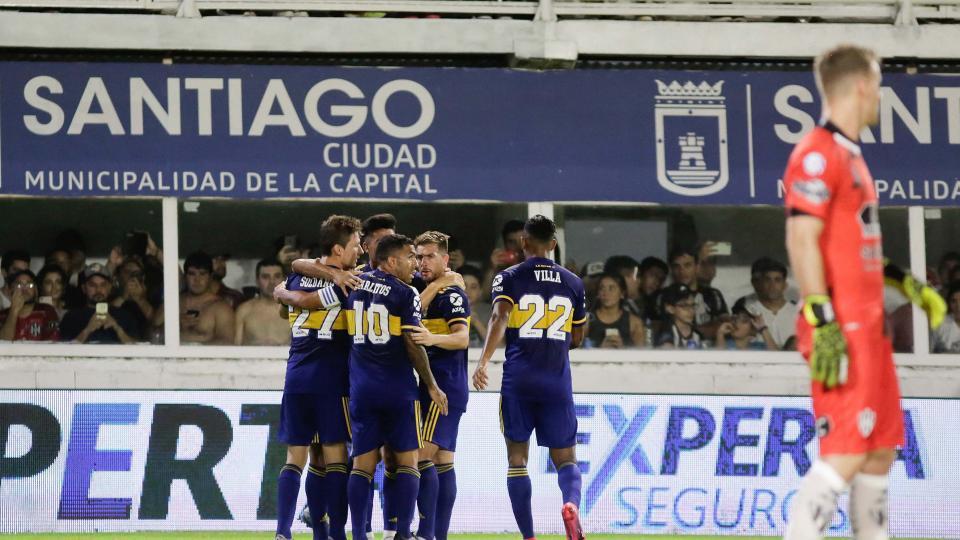 Boca goleó a Central Córdoba en Santiago | El escol...  | Página12