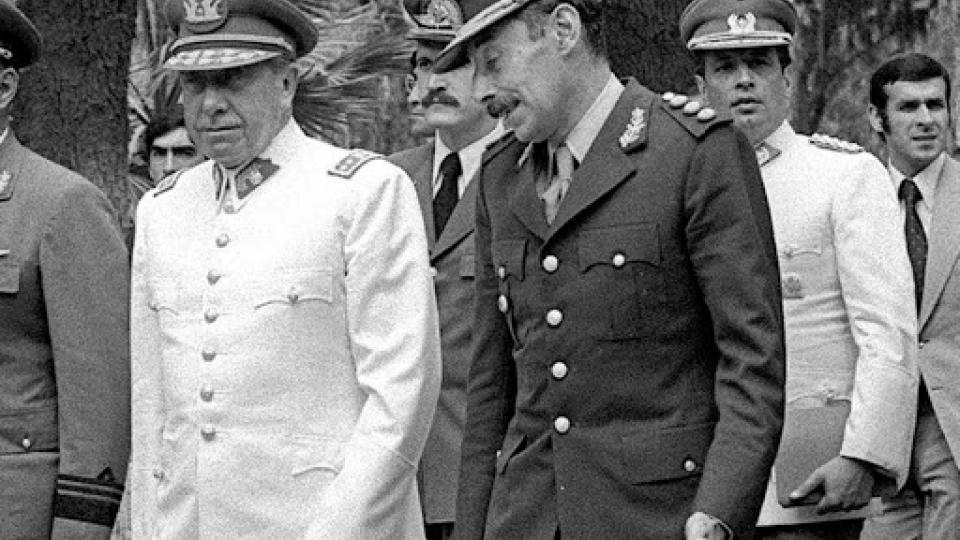 Los dictadores Pinochet y Videla, entre los espiados por la CIA a través de Crypto AG.