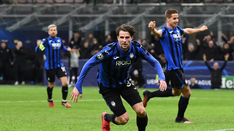 Atalanta pisó fuerte en los octavos de final de la Champions League