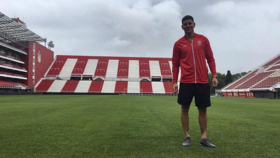 Estudiantes de La Plata: Rojo se desgarró y no jugará ante River