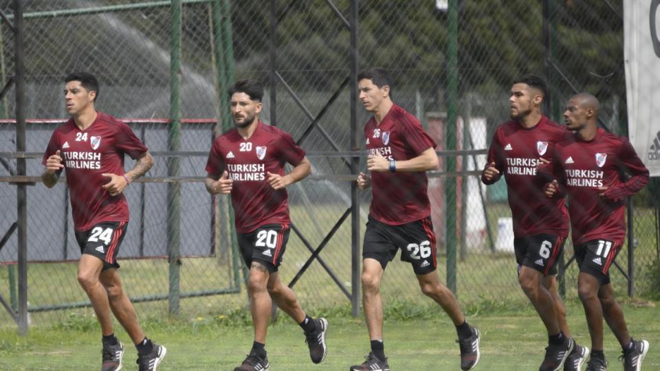 Superliga: River, con la presión de ganar   Recibe ...    Página12