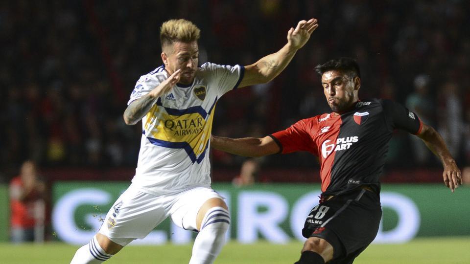 Superliga: Boca goleó y le mete presión a River