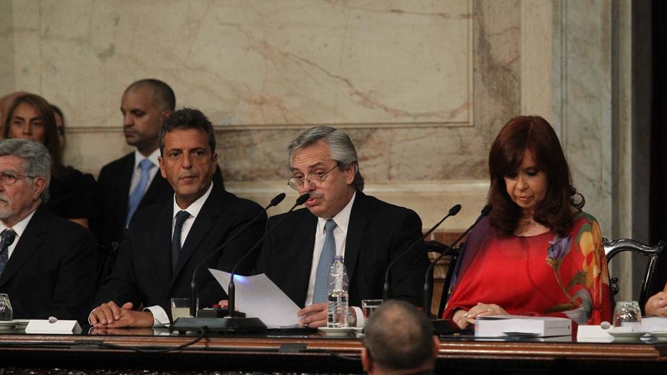 Punto por punto, el discurso de Alberto Fernández ...  | Página12