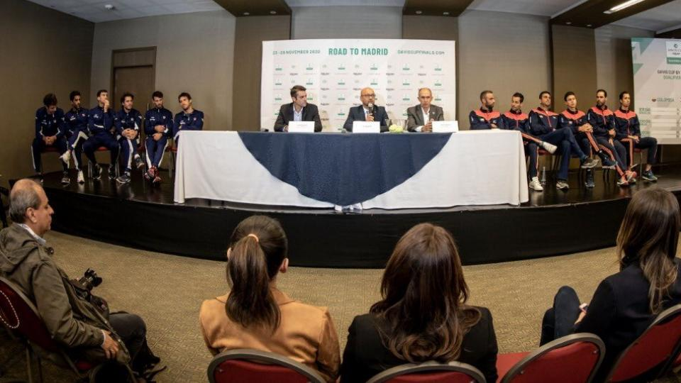 Copa Davis: Argentina se mide con Colombia como escala a Madrid