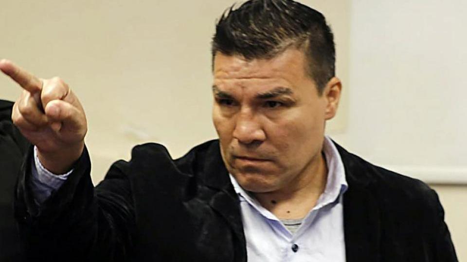 Carlos Baldomir se salvó de ser atacado en el penal de Las Flores