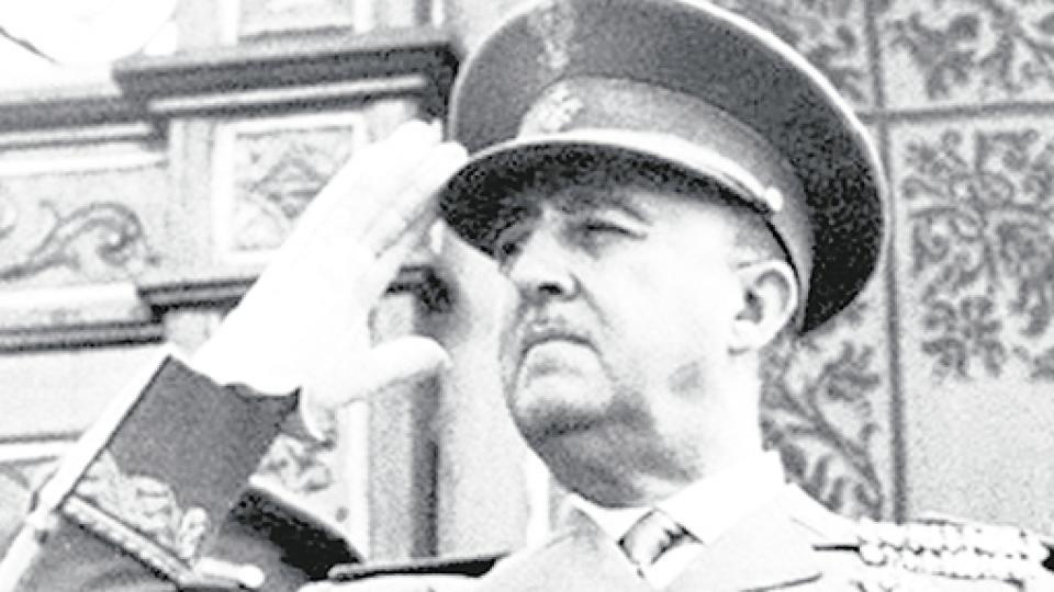 Francisco Franco gobernó España entre 1939 y 1975.