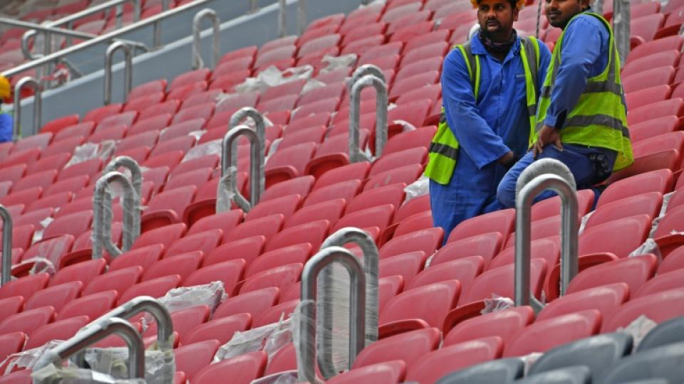 Qatar 2022: ocho obreros dieron positivo de Covid-19