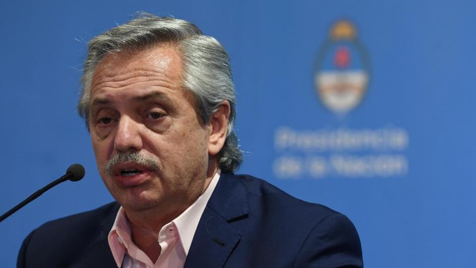 Alberto Fernández anunció nuevas medidas contra el ...  | Página12