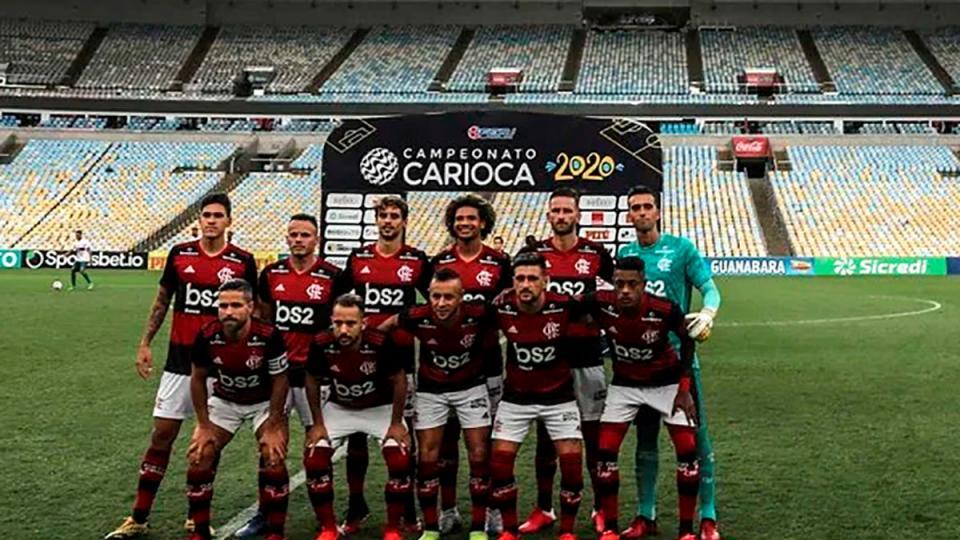 Tres jugadores de Flamengo dieron positivo de coronavirus