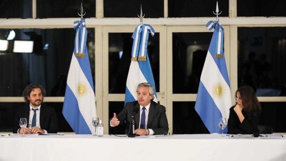 Alberto Fernández lanzó Argentina Construye: un pla...  | Página12