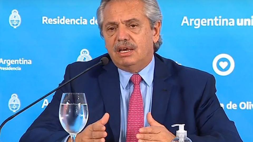 El mensaje de Alberto Fernández por el Día Internac...  | Página12
