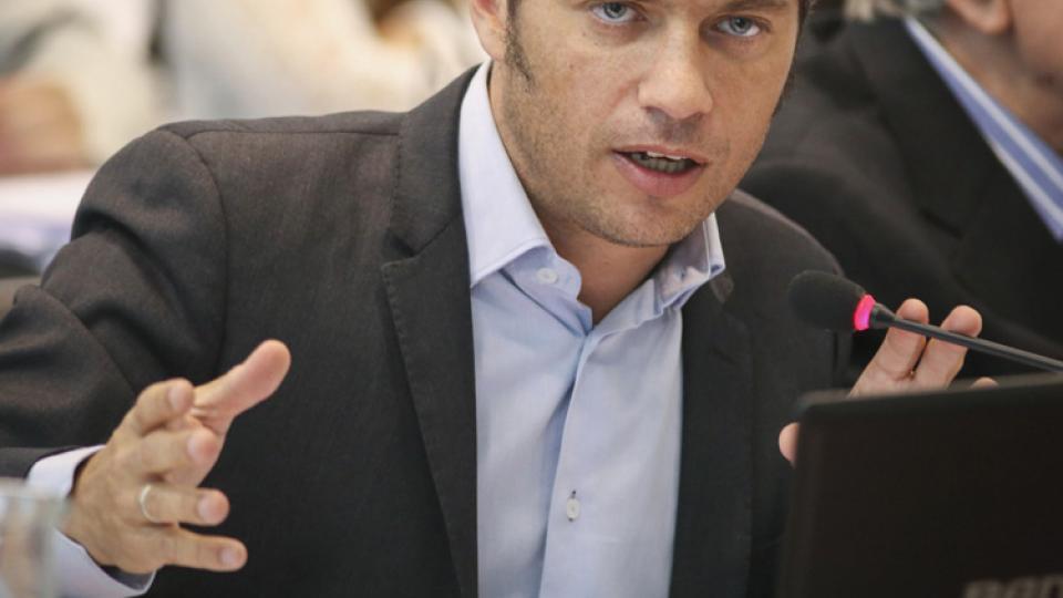 Axel Kicillof, ex ministro de Economía.