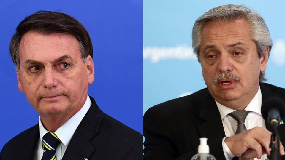 Bolsonaro y Alberto Fernández: dos modelos ante el ...  | Página12