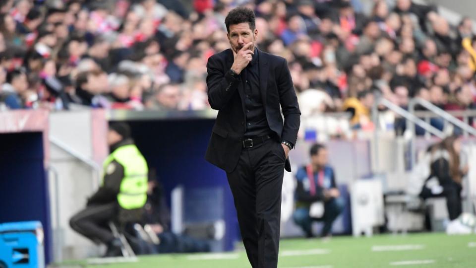 """Diego Simeone: """"El fútbol debe adaptarse a lo que vive toda la sociedad"""""""